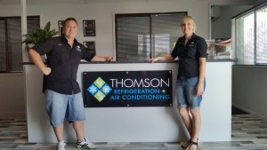 Grand opening of Thomson Refrigeration + Air Conditioning