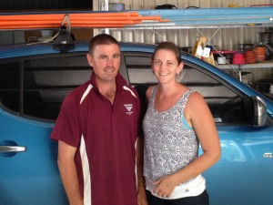 Sipelectrical's Jono and Annaka Sippel.