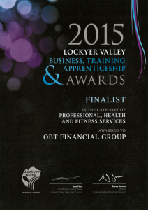 Business Excellence Awards: Finalist feeling is 'fantastic' for OBT