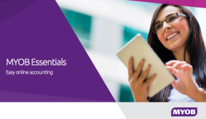 How can MYOB Essentials help your business?