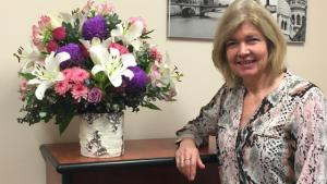 OBT Client Manager Sue Dobinson